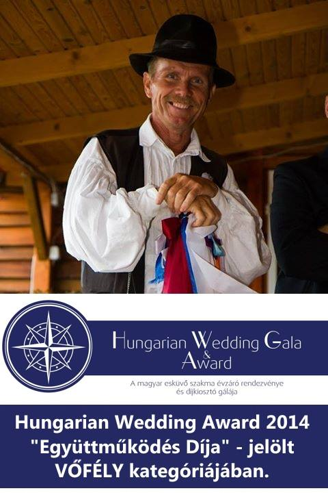 Hungarian Wedding Award 2014